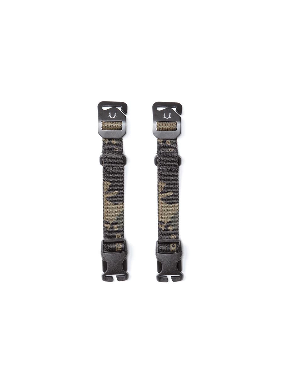 Black Ember Short Compression Straps