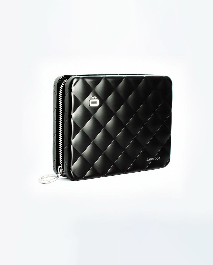 ÖgonDesign Quilted Passport Wallet RFID安全防盜菱格紋護照夾