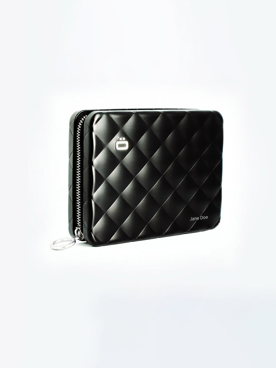 ÖgonDesign Quilted Passport Wallet RFID安全防盜菱格紋護照夾