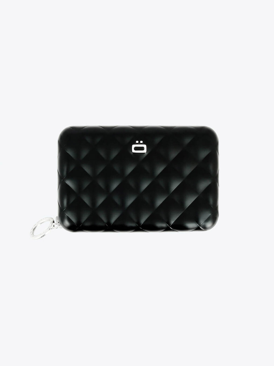 Ogon Quilted Zipper Card Case