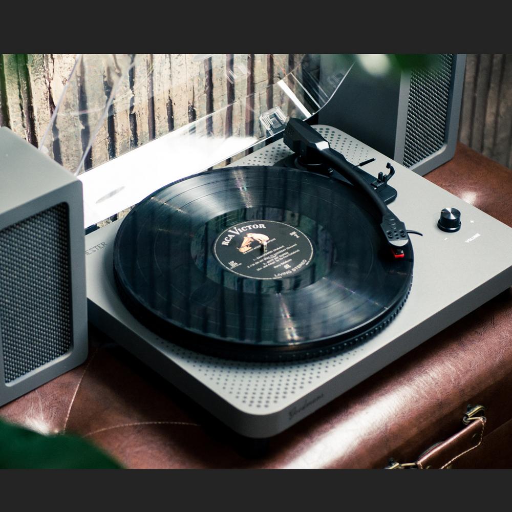 Goodmans Manchester 英國曼徹斯特經典黑膠唱機